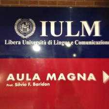 "Davide Scialpi at IULM University to evaluate Students of ""Corporate Communication and Digital Languages"" course"
