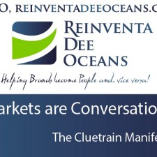 """Markets are Conversations"" Cluetrain Manifesto' Quote"