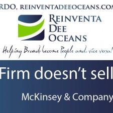 """Firm doesn't sell"" McKinsey' Quote"