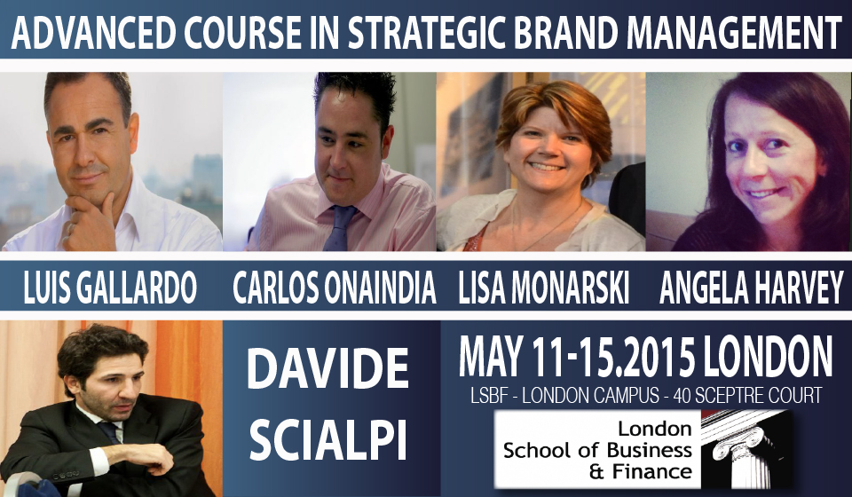 Advanced Course in Brand Management with Davide Scialpi, brand marketing manager and digital transformation expert