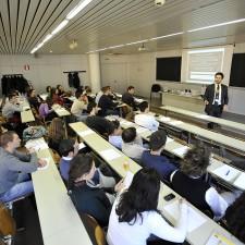 Davide Scialpi presenting at Trento University about Personal Branding in the Digital Era!