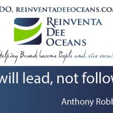 """""""I will lead, not follow!"""" Anthony Robbins' Quote"""