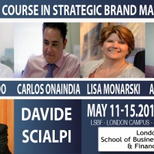 Advanced Course in Strategic Brand Management at LSBF – London School of Business & Finance – May 2015
