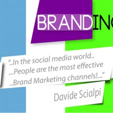 """""""People are the most effective marketing channels"""" Davide Scialpi"""